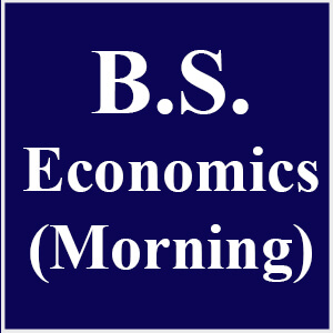 BS in Economics (Morning)