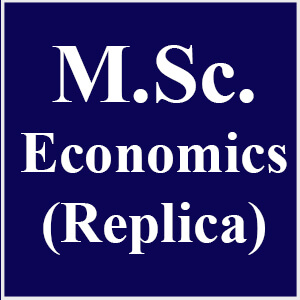 M.Sc Economics (Replica)